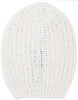 Rick Owens ribbed beanie hat - men - Cotton - One Size