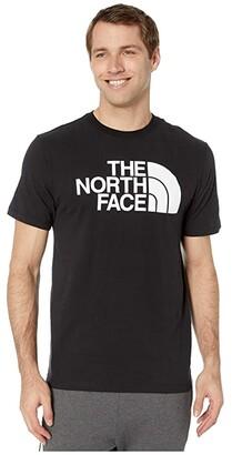 The North Face Short Sleeve Half Dome T-Shirt (Evergreen/TNF Black) Men's T Shirt