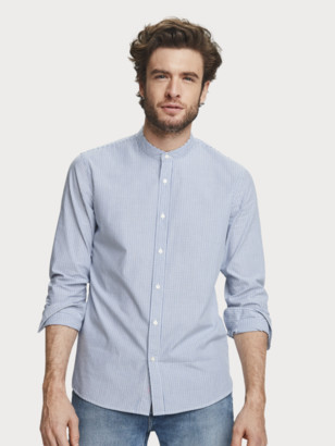 Scotch & Soda Cotton Dobby Shirt Regular fit | Men
