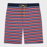 Paul Smith Men's Multi-Coloured Stripe Jersey Shorts