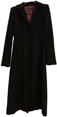 360 Cashmere Black Cashmere Coat for Women