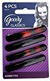 Goody Womens Classic Oblong Autoclasp 4 Ct Color May Very, GD-04414