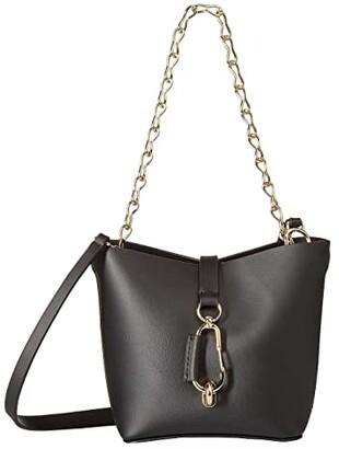 Zac Posen Belay Mini Chain Hobo (Black) Hobo Handbags