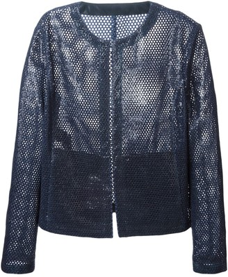 Drome perforated jacket