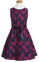 Blush by Us Angels Floral Fit & Flare Dress (Big Girls)