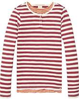 Scotch & Soda R'Belle Girl's Two-in-One Gestreift T-Shirt