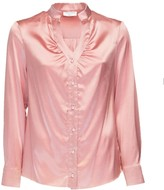 Dressarte Paris Silk V-Neck Blouse