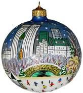Landmark Creations Central Park Winter Blue Ornament