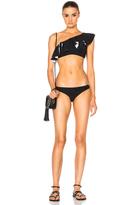 Lisa Marie Fernandez Arden Double Ruffle Bikini