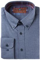 James Tattersall Button-Down Cotton Sportshirt