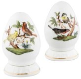 Herend Rothschild Bird Salt & Pepper Shakers