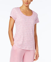 Charter Club Printed Cotton Knit Pajama T-Shirt, Created for Macy's