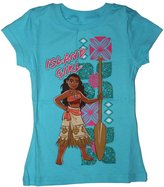 Disney Moana Island Girl Girls Shirt 4-16