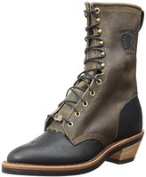 Chippewa Men's 10 Inch Bay Crazy Horse Packer Packer Boot