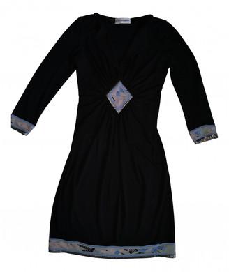 Leonard Black Silk Dresses