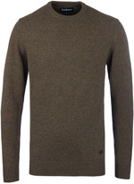 Barbour Willow Green Patch Crew Neck Sweater