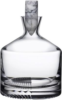 Nude Glass Alba Whisky Carafe, Short