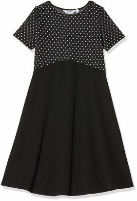 Dorothy Perkins Women's Maternity Black Spot 2in1 Dress 12