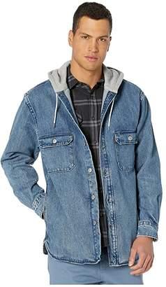 Gear Box Levi's(r) Premium Hooded Jackson Overshirt Men's Clothing