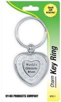 Hy-Ko Prod Co Slv Great Mom Key Chain Kf611 Key Hook/Ring