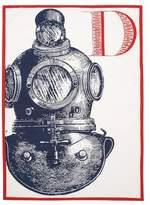 Thomas Paul D Diver Tea Towel