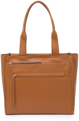 Nordstrom Finn Pebbled Leather Tote Bag