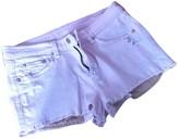 Rag & Bone Pink Cotton - elasthane Shorts for Women