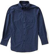 Roundtree & Yorke Long Sleeve Horizontal Stripe Sportshirt