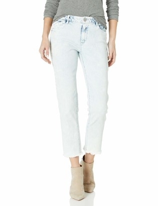 Democracy Women's HIGH Rise Flex ELLENT Slim Straight Crop