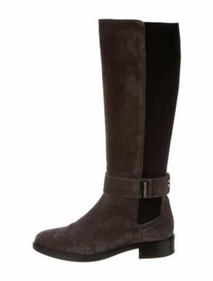 Aquatalia Suede Riding Boots