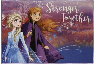 Disney Disney's Frozen ''Stronger Together'' Area Rug - 4'6'' x 6'6''