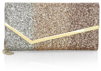 Jimmy Choo Erica Degrade Glitter Clutch