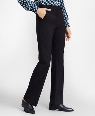 Brooks Brothers Petite Pinstripe Stretch Wool Pants