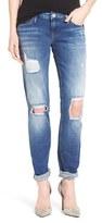 Mavi Jeans Women's 'Emma' Ripped Knee Boyfriend Slim Jeans