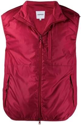 Aspesi zipped gilet jacket