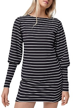 French Connection Sally Tim Tim Striped Dress