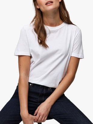 Selected My Perfect T-Shirt, Bright White