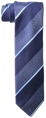Eton Wide and Thin Stripe Tie (Blue) Ties