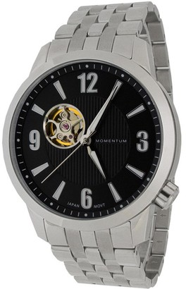 Momentum Men's Automatic-self-Wind Watch with Stainless-Steel Strap Silver 22 (Model: 1M-SN90BS0)