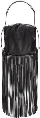 Bottega Veneta The Leather Fringe Pouch Bag