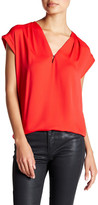 Anne Klein V-Neck Blouse