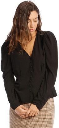 Hi There From Karen Walker Puff Sleeve Blouse