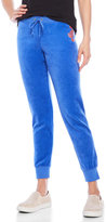 Juicy Couture Blue Velour Jogger Pants