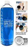 VALUE PACK: Cinema Secrets Vanilla Brush Cleaner Bottle 32oz + TIN Holder by Cinema Secrets ($41 VALUE)