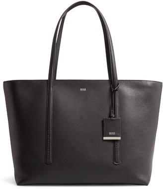 HUGO BOSS Taylor Leather Shopper