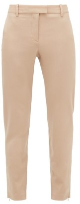 Altuzarra Henri Cropped Wool-blend Trousers - Beige