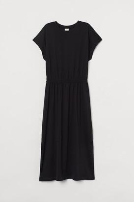 H&M Modal-blend Jersey Dress - Black