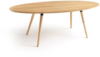 La Redoute Interieurs Blutante Oval Table - 6/8 People