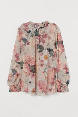 H&M Chiffon crepe blouse