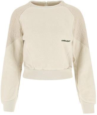 Ambush Logo Embroidered Cropped Sweater